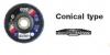 Lamellenscheiben konisch Zirconium - Multi Power Line